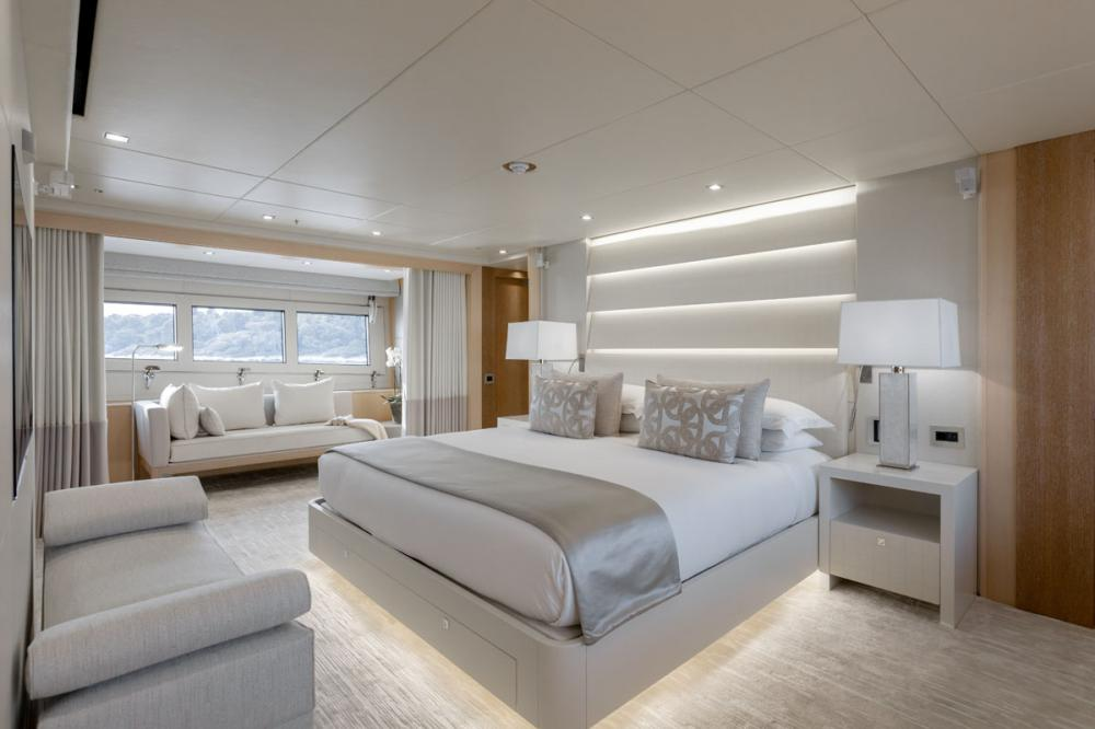 ARADOS - Luxury Motor Yacht For Charter - 1 MASTER CABIN - Img 1 | C&N