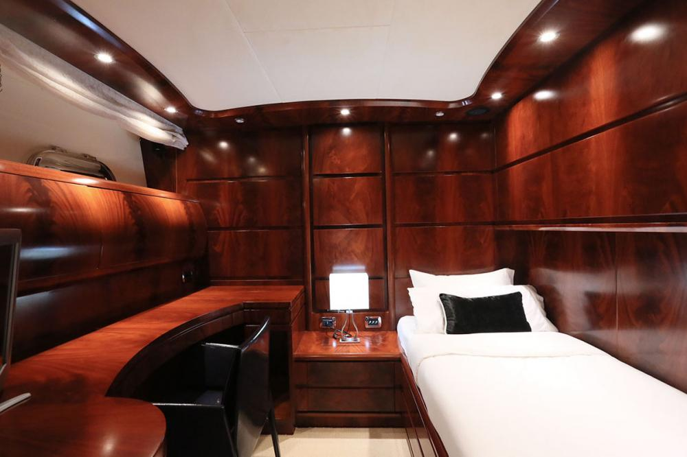 BLOSSON - Luxury Motor Yacht For Sale - 1 GUEST CABIN - Img 1   C&N