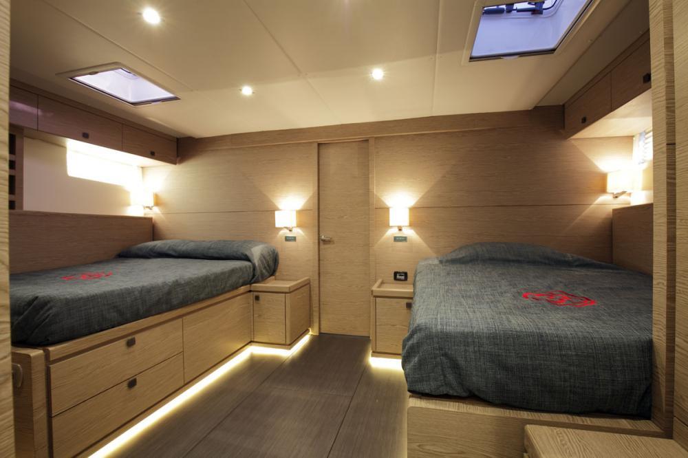 NAKUPENDA - Luxury Sailing Yacht For Sale - 2 TWIN CABIN - Img 1 | C&N