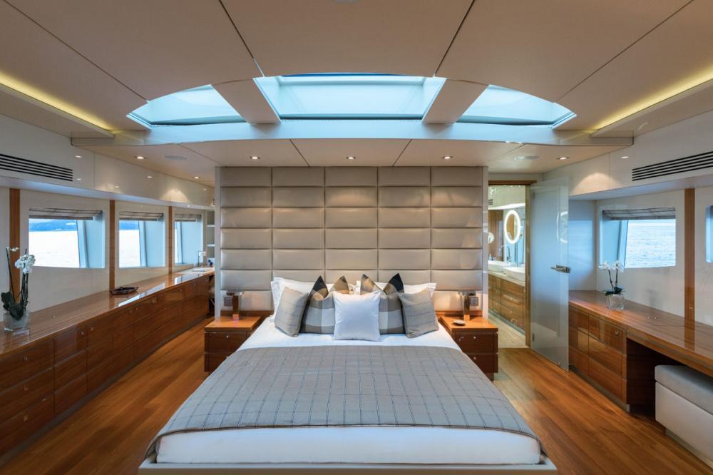BASMALINA II - Luxury Motor Yacht For Sale - 1 MASTER CABIN - Img 1 | C&N