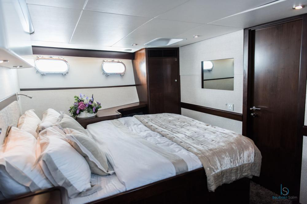 SULTANA - Luxury Motor Yacht For Charter - 1 DOUBLE CABIN - Img 1   C&N