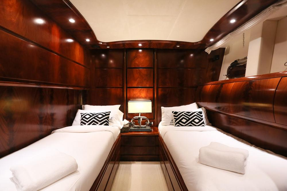BLOSSON - Luxury Motor Yacht For Sale - 1 TWIN CABIN - Img 1   C&N