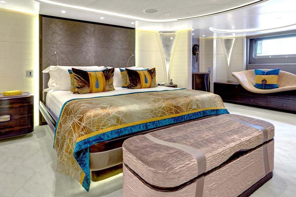 MONDANGO 3 - Luxury Sailing Yacht For Charter - 1 MASTER CABIN - Img 1   C&N