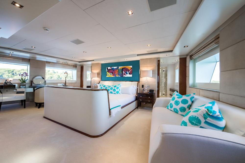 CLICIA - Luxury Motor Yacht For Sale - 1 MASTER CABIN - Img 1   C&N