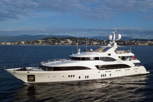 HOM - Luxury Motor Yacht For Charter - Exterior Design - Img 2   C&N