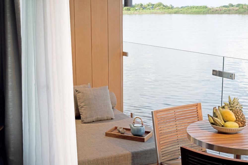AQUA MEKONG - Luxury Motor Yacht For Charter - CALIFORNIA KING SETUP - Img 4   C&N
