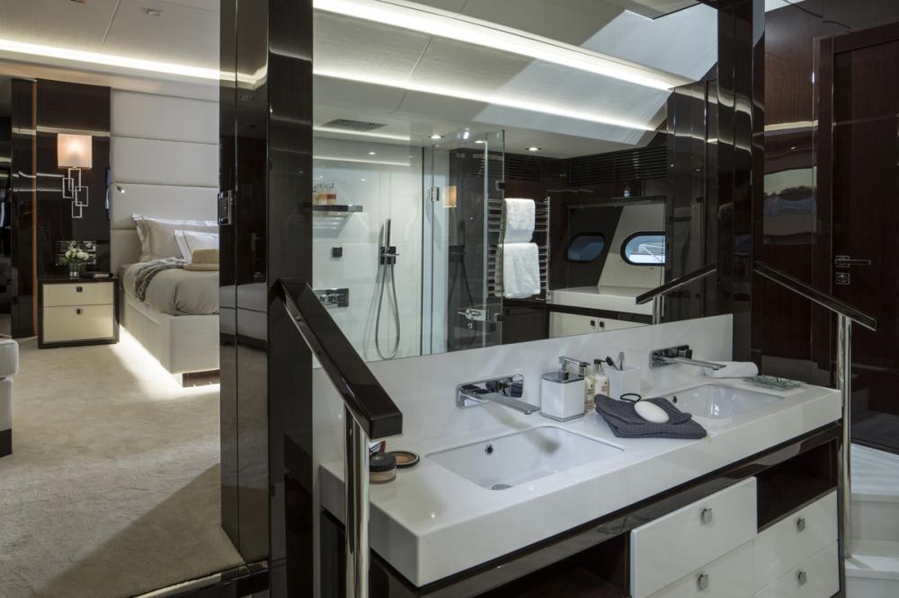 FLEUR - Luxury Motor Yacht For Charter - 1 MASTER CABIN - Img 2 | C&N