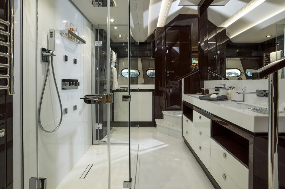FLEUR - Luxury Motor Yacht For Charter - 1 MASTER CABIN - Img 3 | C&N