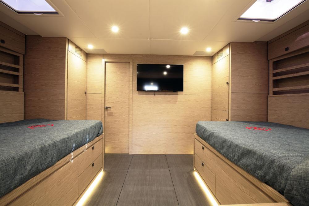 NAKUPENDA - Luxury Sailing Yacht For Sale - 2 TWIN CABIN - Img 2 | C&N