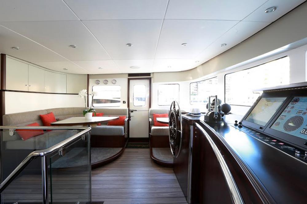 SULTANA - Luxury Motor Yacht For Charter - BRIDGE  - Img 1   C&N
