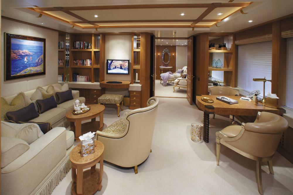Callisto - Luxury Motor Yacht For Charter - 1 MASTER CABIN - Img 1   C&N