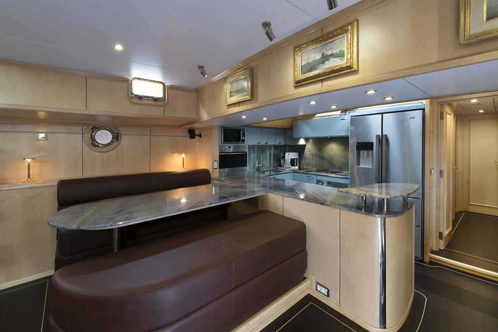 DE VROUWE CHRISTINA - Luxury Sailing Yacht For Sale - GALLEY - Img 1 | C&N