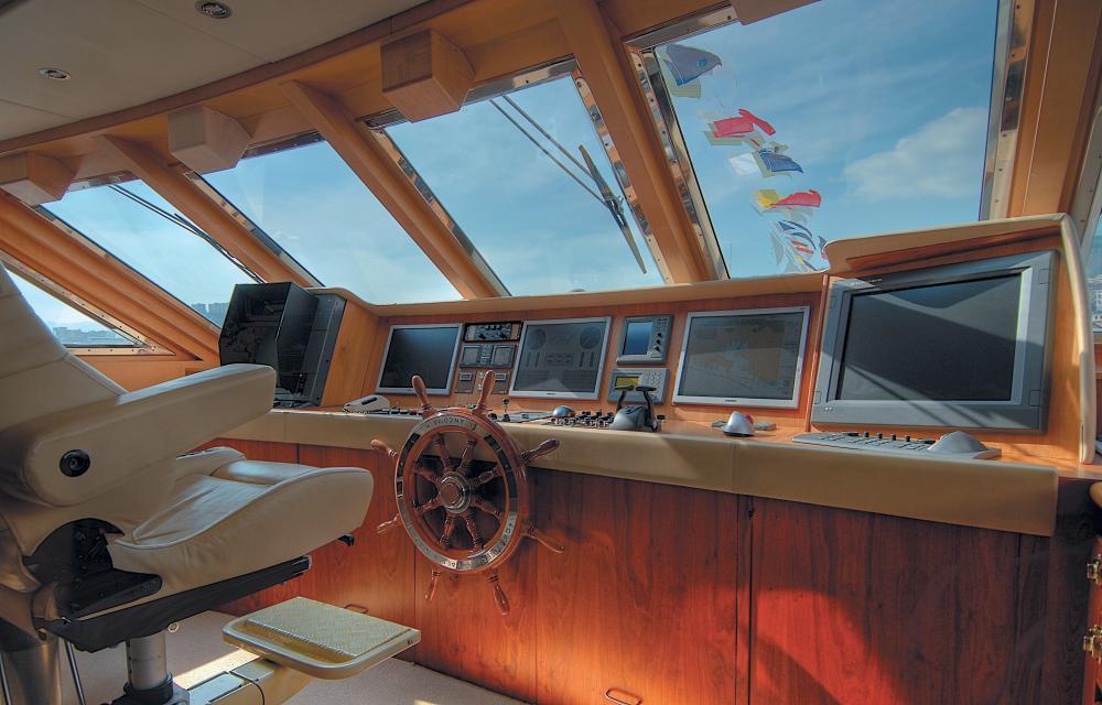 CD TWO - Luxury Motor Yacht For Sale - BRIDGE - Img 1 | C&N