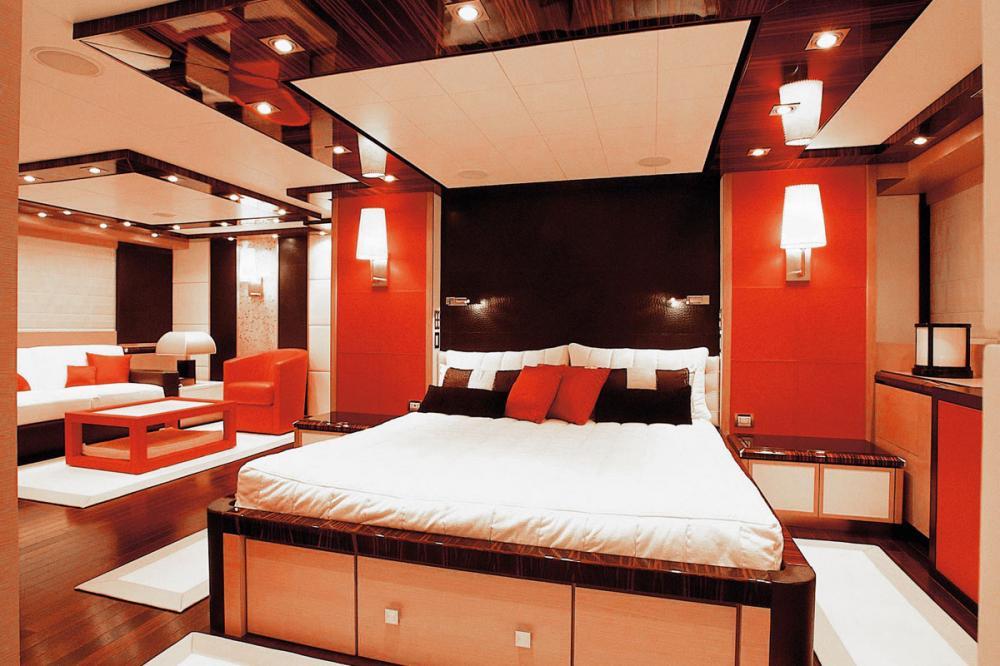 DRAGON - Luxury Motor Yacht For Sale - 1 MASTER CABIN - Img 1 | C&N