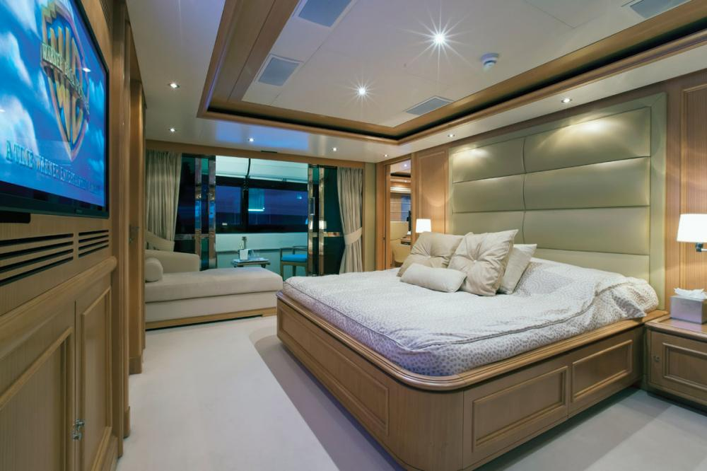 HANA - Luxury Motor Yacht For Charter - 1 MASTER CABIN - Img 1   C&N