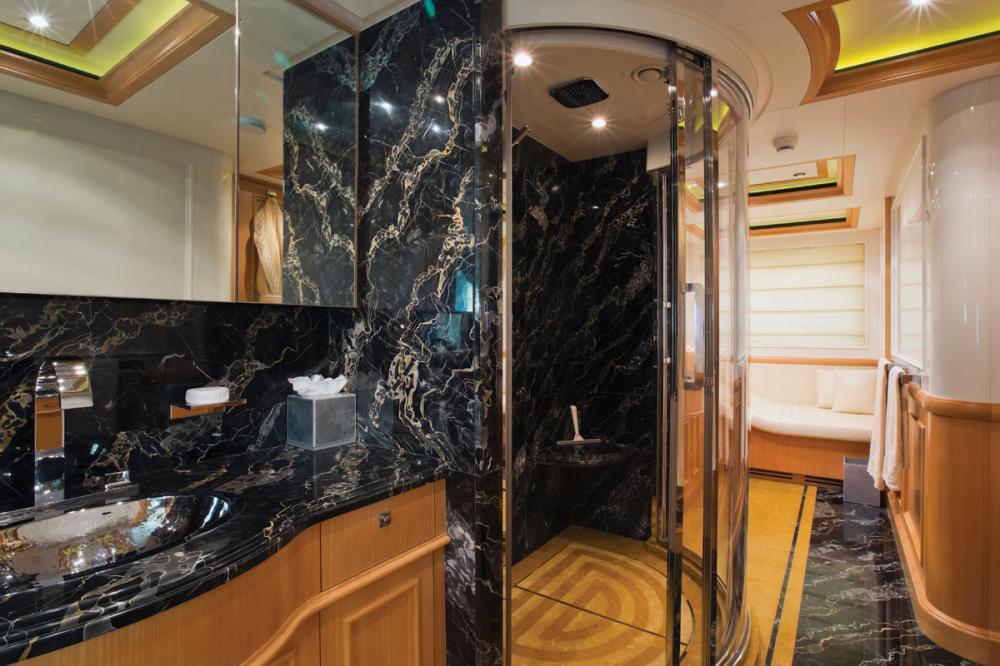 HANA - Luxury Motor Yacht For Charter - 1 MASTER CABIN - Img 3   C&N