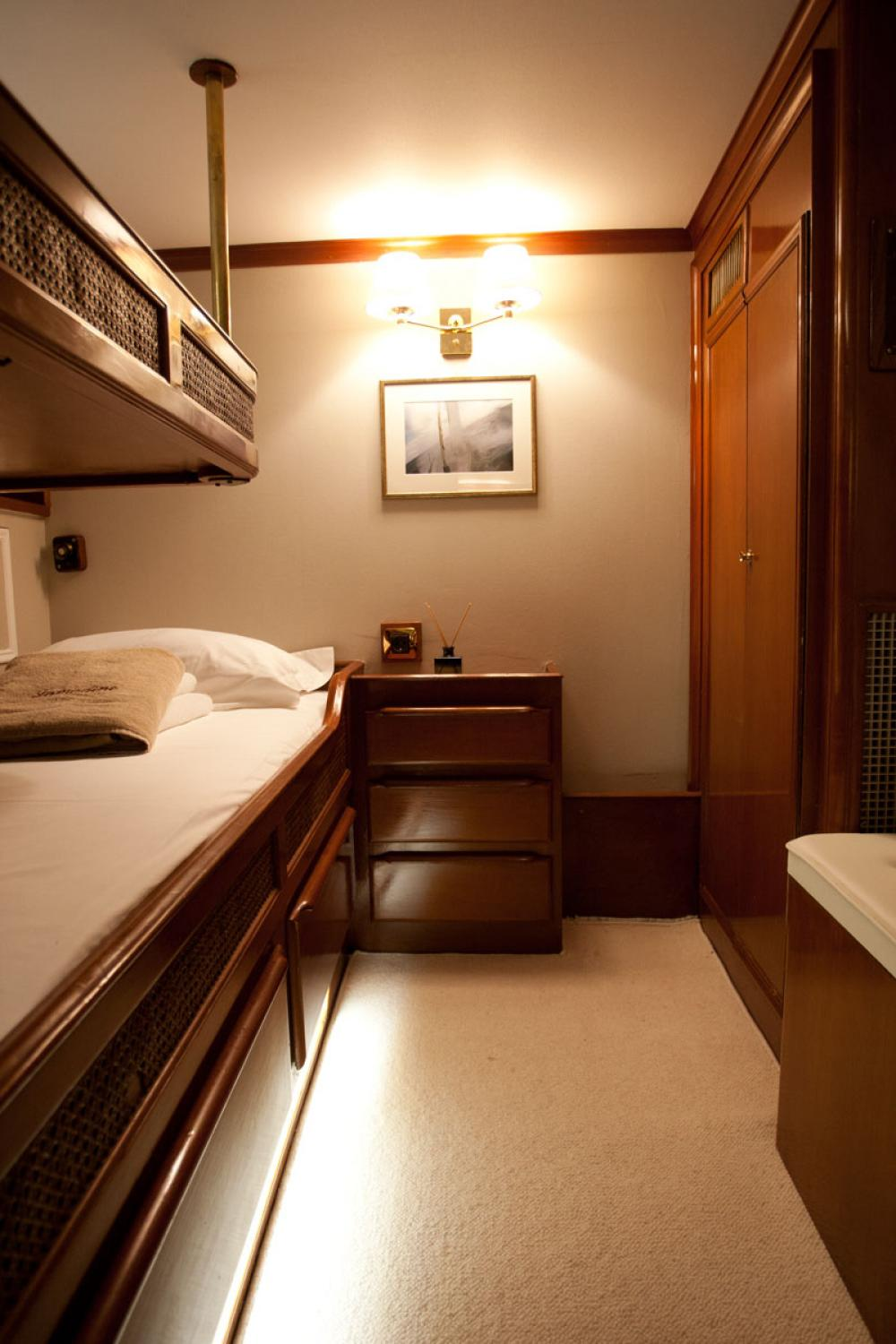 LAMADINE - Luxury Sailing Yacht For Sale - 2 GUESTS CABINS - Img 2   C&N