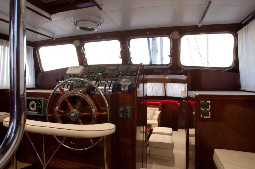 LAMADINE - Luxury Sailing Yacht For Sale - BRIDGE - Img 1   C&N