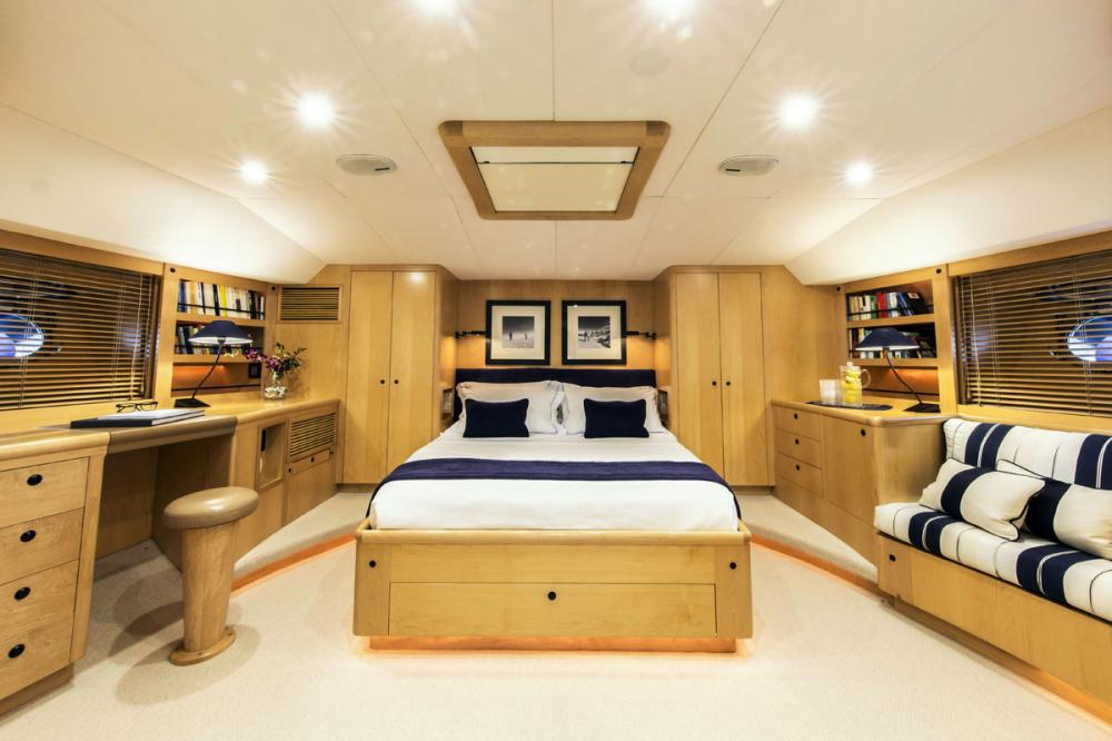 IMAGINE - Luxury Sailing Yacht For Charter - 1 MASTER CABIN - Img 1 | C&N