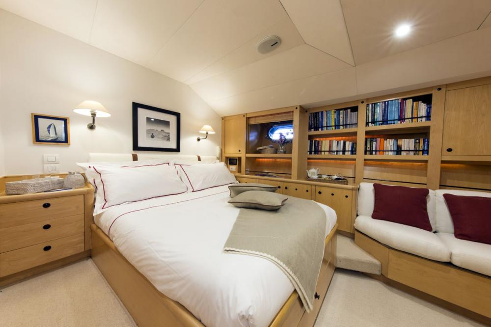IMAGINE - Luxury Sailing Yacht For Charter - 1 DOUBLE CABIN - Img 1 | C&N