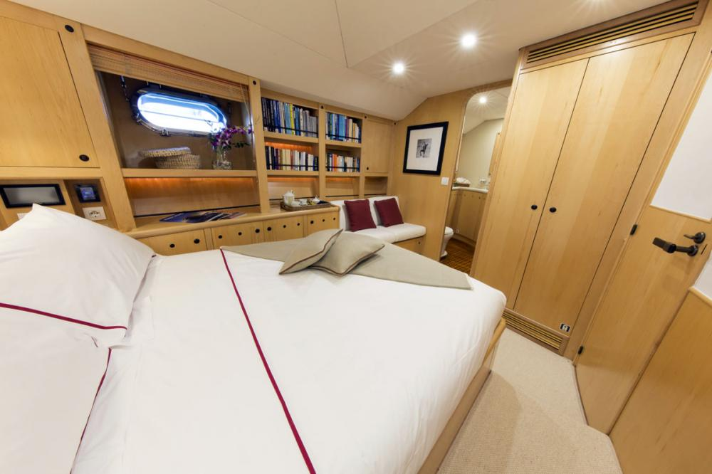 IMAGINE - Luxury Sailing Yacht For Charter - 1 DOUBLE CABIN - Img 2 | C&N