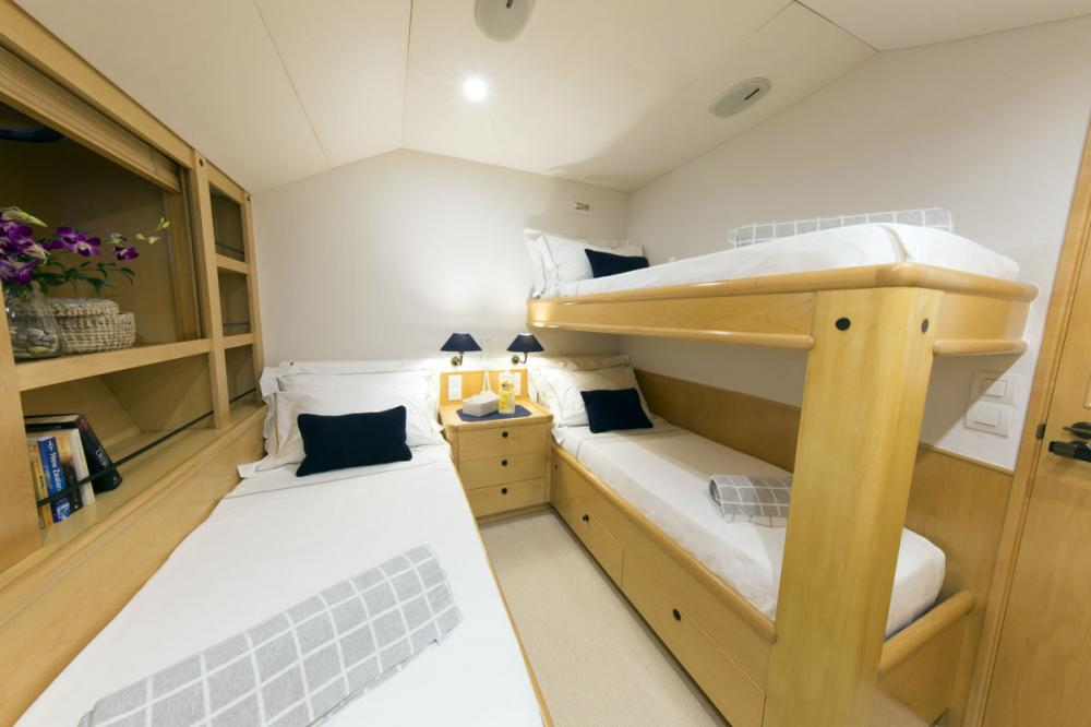 IMAGINE - Luxury Sailing Yacht For Charter - 1 TRIPLE CABIN - Img 1 | C&N