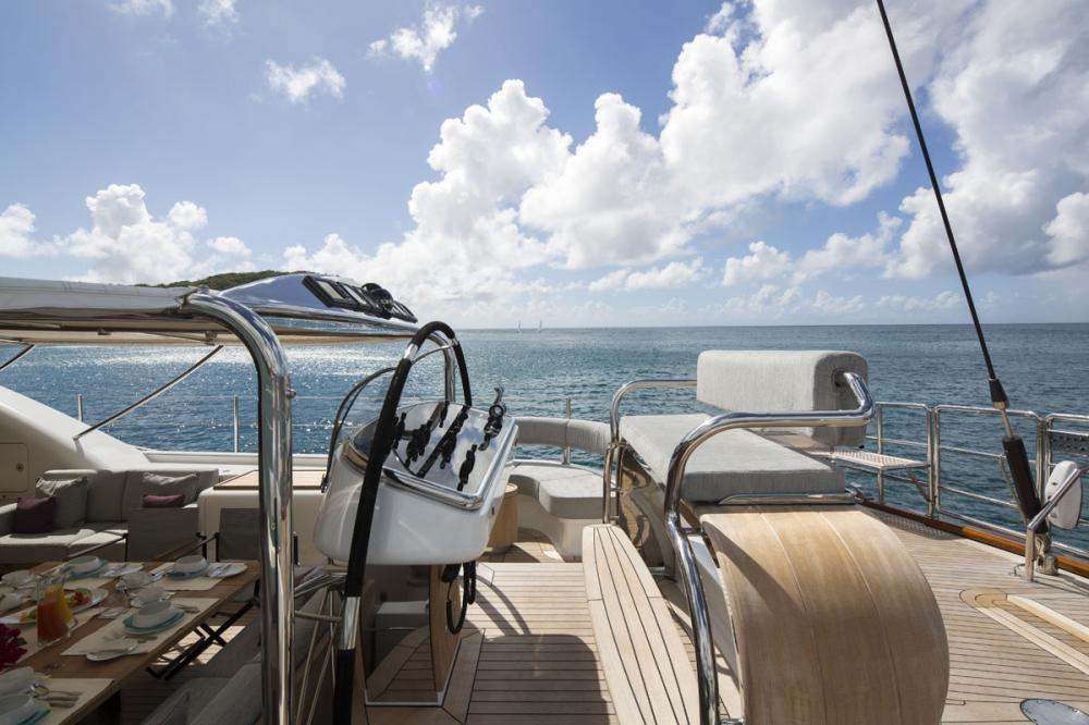 STATE OF GRACE - Luxury Sailing Yacht For Charter - BRIDGE - Img 3 | C&N