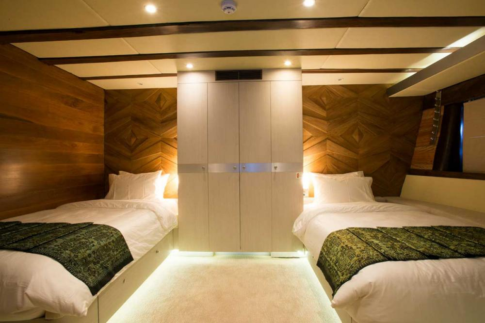 LAMIMA - Luxury Sailing Yacht For Charter - 2 TWIN CABINS - Img 2 | C&N
