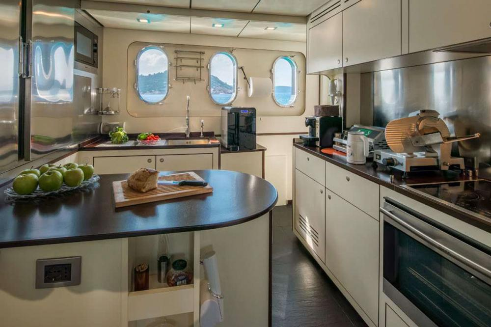Indian - Luxury Motor Yacht For Sale - GALLEY - Img 1 | C&N