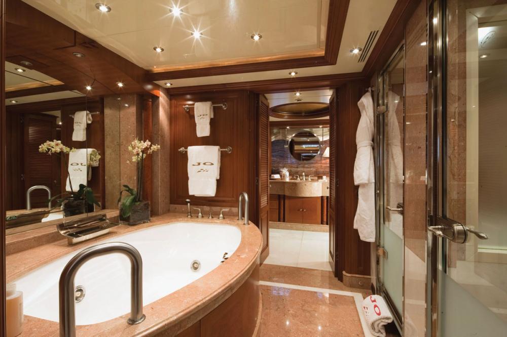JO I - Luxury Motor Yacht For Charter - 1 MASTER CABIN - Img 2 | C&N