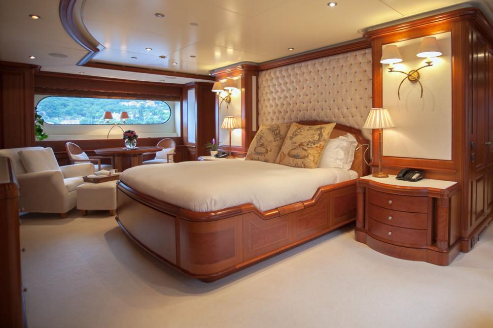 JO I - Luxury Motor Yacht For Charter - 1 MASTER CABIN - Img 1 | C&N