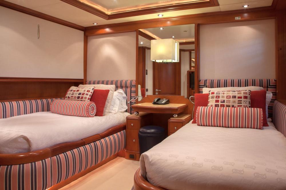 JO I - Luxury Motor Yacht For Charter - 2 TWIN CABINS - Img 1 | C&N