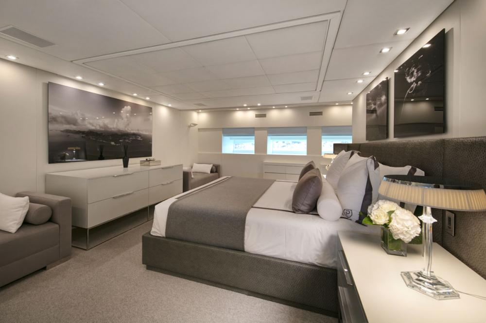 PURE ONE - Luxury Motor Yacht For Sale - 1 MASTER CABIN - Img 2 | C&N