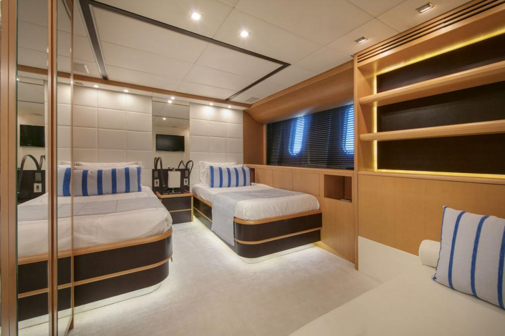 PURE ONE - Luxury Motor Yacht For Sale - 2 TWIN CABINS - Img 1 | C&N