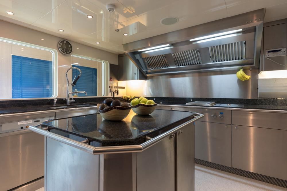 ATINA - Luxury Motor Yacht For Sale - GALLEY - Img 1 | C&N