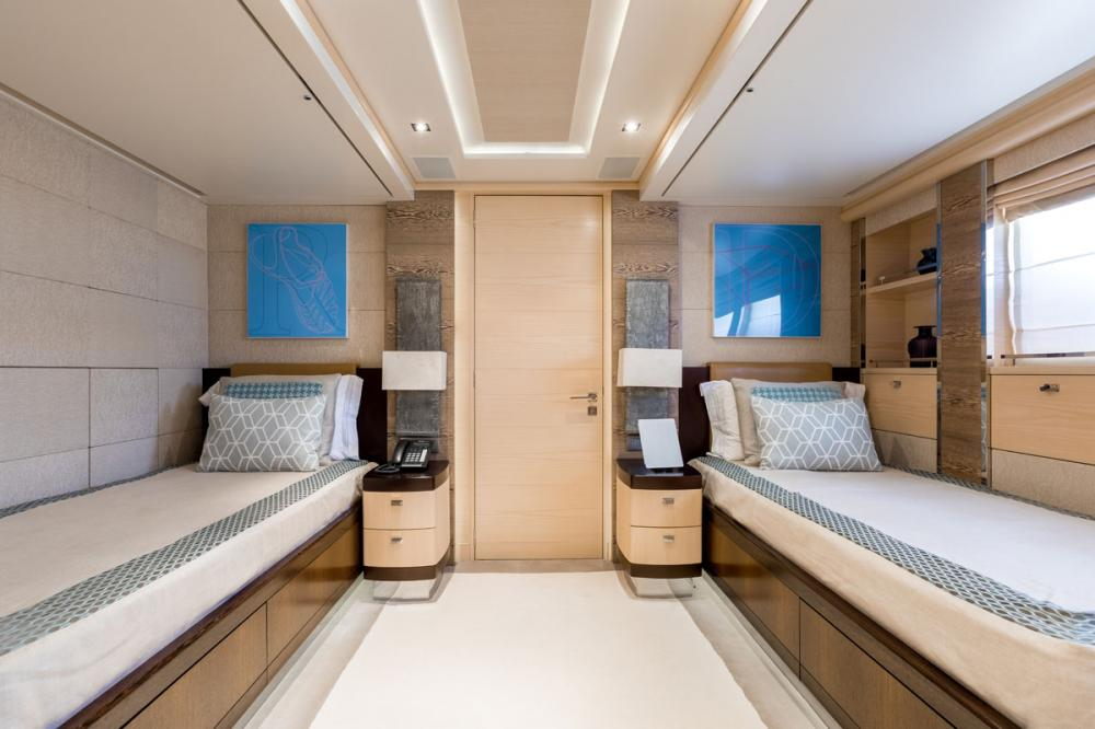 ATINA - Luxury Motor Yacht For Sale - 1 TWIN CABINS - Img 1 | C&N