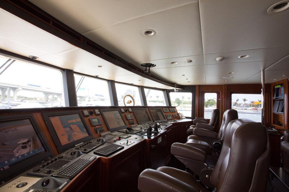 SAFIRA - Luxury Motor Yacht For Sale - BRIDGE - Img 1 | C&N