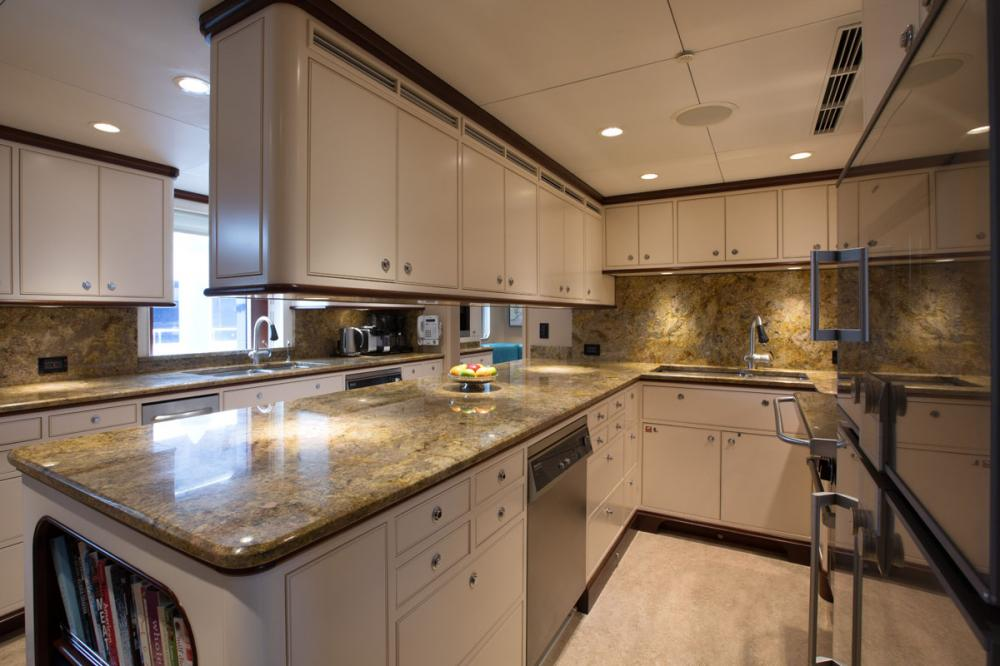 SAFIRA - Luxury Motor Yacht For Sale - GALLEY - Img 1 | C&N