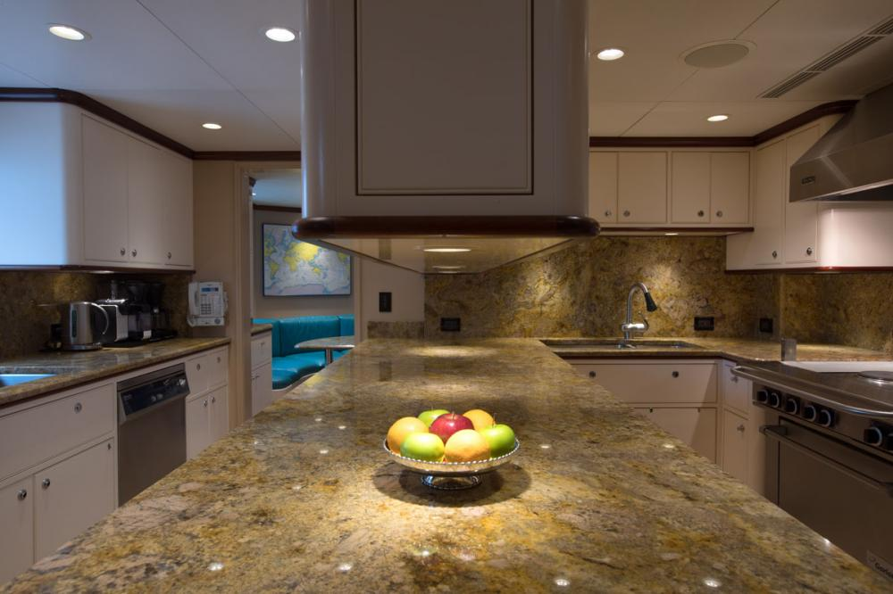 SAFIRA - Luxury Motor Yacht For Sale - GALLEY - Img 2 | C&N
