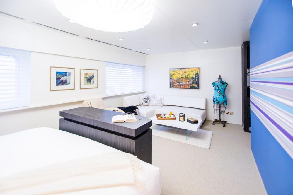 SALUZI - Luxury Motor Yacht For Charter - 7 VIP CABINS - Img 3   C&N