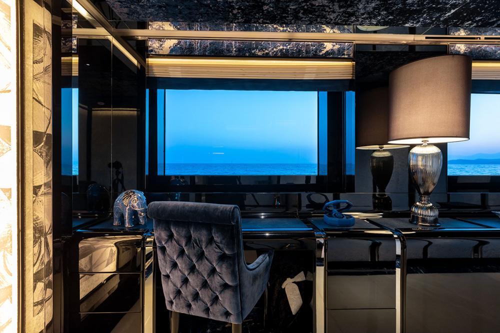 SARASTAR - Luxury Motor Yacht For Sale - 1 MASTER CABIN - Img 2 | C&N