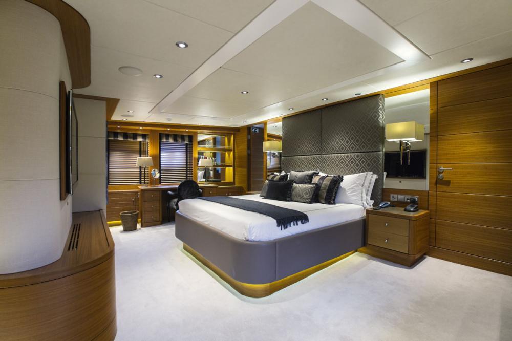 SHAKE N' BAKE TBD - Luxury Motor Yacht For Charter - 1 MASTER CABIN - Img 1 | C&N