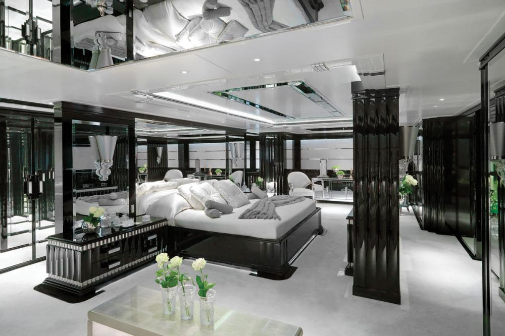 SILVER ANGEL - Luxury Motor Yacht For Charter - 1 MASTER CABIN - Img 1   C&N
