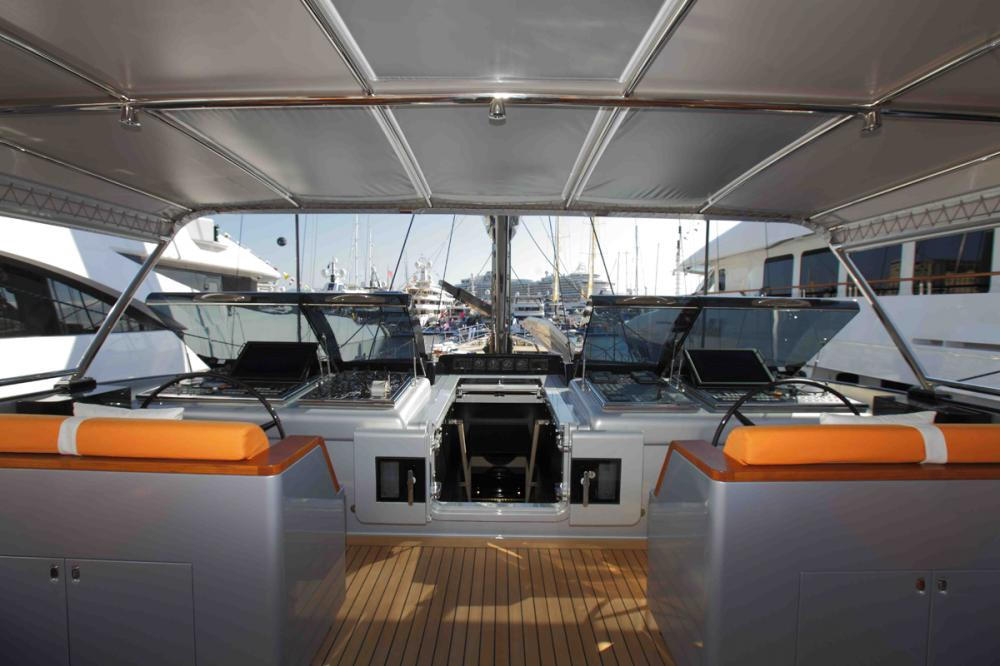 PERSEUS3 - Luxury Sailing Yacht For Charter - Bridge - Img 1   C&N