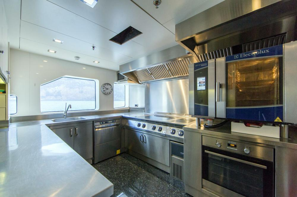 PANAKEIA - Luxury Motor Yacht For Charter - GALLEY - Img 1   C&N