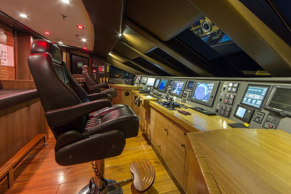 PANAKEIA - Luxury Motor Yacht For Charter - BRIDGE - Img 1   C&N