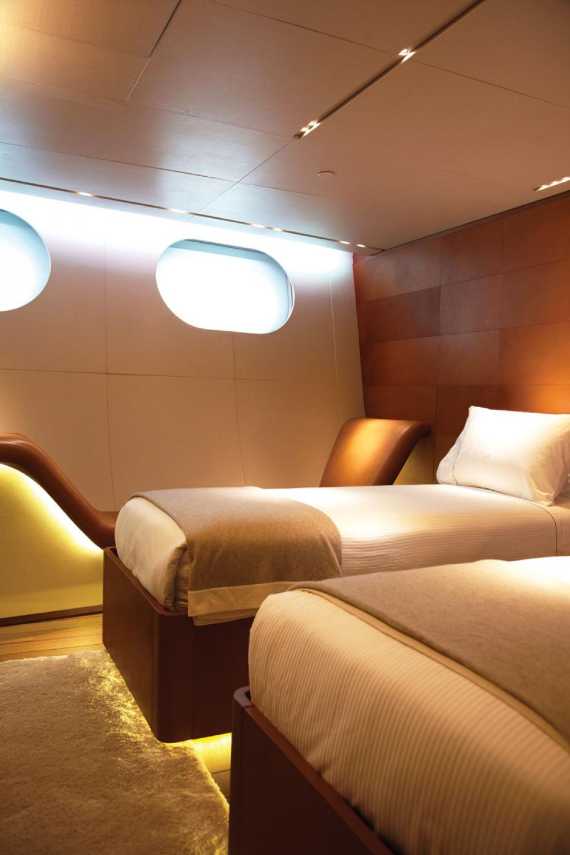 PANTHALASSA - Luxury Sailing Yacht For Charter - 2 TWIN CABINS - Img 2   C&N