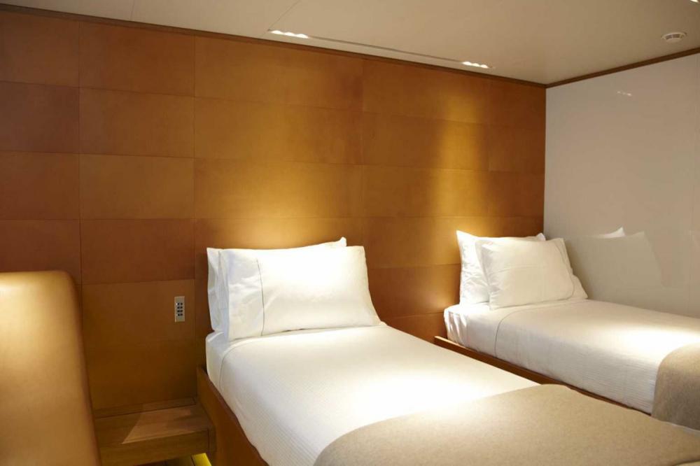 PANTHALASSA - Luxury Sailing Yacht For Charter - 2 TWIN CABINS - Img 1   C&N