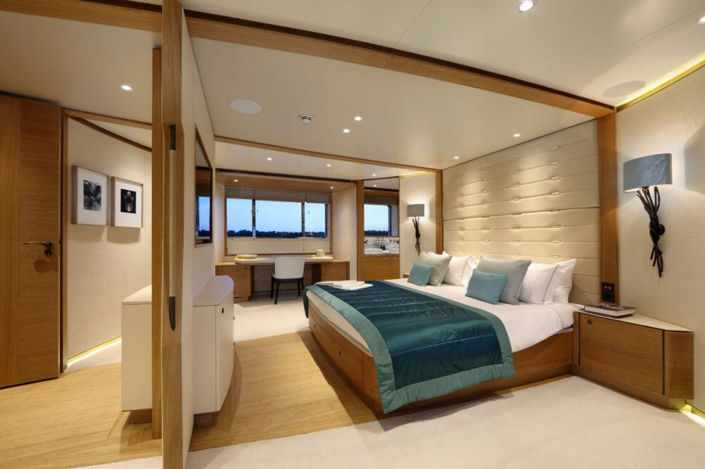 SOLIS - Luxury Motor Yacht For Charter - 1 MASTER CABIN - Img 1 | C&N