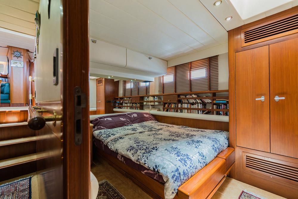 TARONGA - Luxury Sailing Yacht For Sale - 1 DOUBLE CABIN - Img 1   C&N